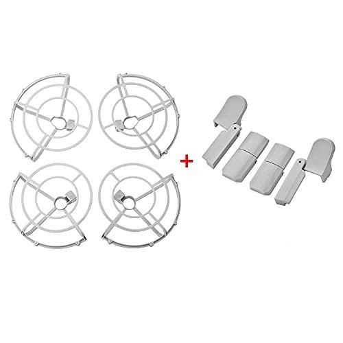 YXYX Accessori droni Copertura Protettiva Completamente Chiusa per Gabbia per D&Ji per Mavic Mini Protector Protezione Dell'elica Accessori per La Protezione del Drone (Color : with Foldable Leg)