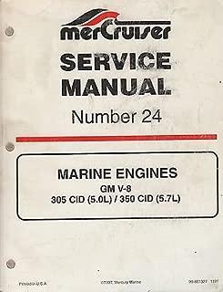 1998 MERCRUISER # 24 MARINE ENGINES GM V-8 P/N 90-861327 SERVICE MANUAL (551)