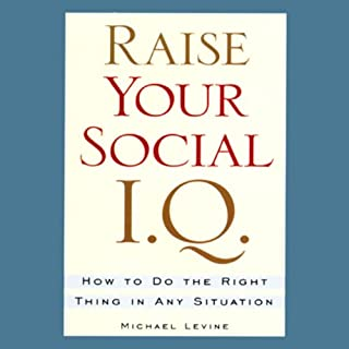 Raise Your Social I.Q. audiobook cover art