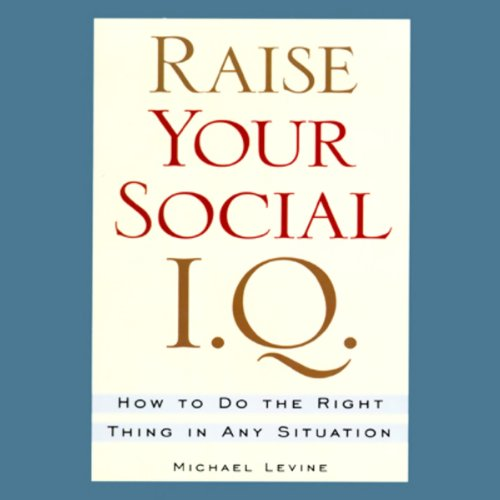 Raise Your Social I.Q. cover art