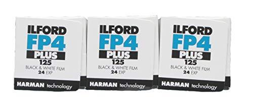 Ilford FP4+ 24 Belichtungen, 3 Rollen