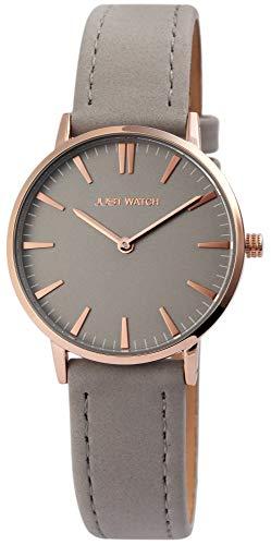 Just Watch Damen-Uhr JW003 Slimline Armbanduhr Frauen Analog Quarz JW10010