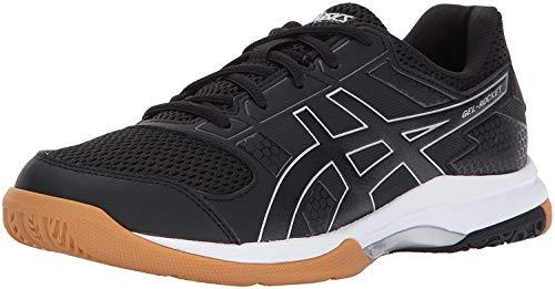 ASICS Women's Gel-Rocket 8 Volleyball Shoe, Black/Black/White, 8.5 Medium US