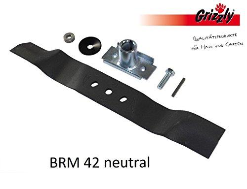 Grizzly Ersatzmesser für Benzin Rasenmäher BRM 42 neutral