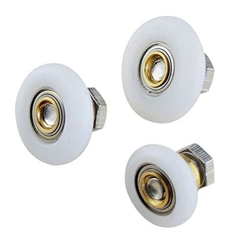 YC Riemenscheibe mit Kugellager, 5 Stück, für das Fenster, für Badezimmermöbel, Durchmesser 19/23/25/27 mm 25mm