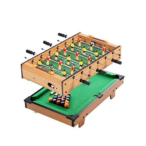 %23 OFF! TriGold Mini Foosball Table for Kids,Portable Football Table with Billiards Ping Pong Ball,...