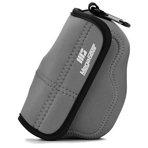 MegaGear MG1819 Ultra Light Neoprene Camera Case Compatible with Nikon Z50 (16-50mm) - Gray