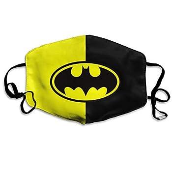 LMEROM bat-Man Face C-Over Reusable Half Mouth S-hield Balaclava Bandanas for Outdoor - 3