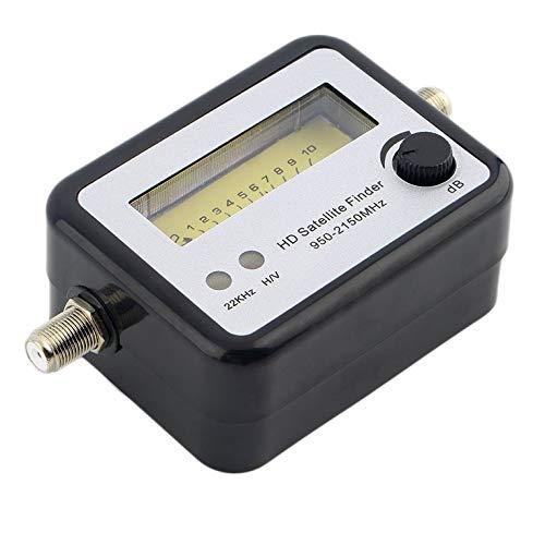 Buscador de señal de satélite digital señal de alineación medidor satfinder brújula FTA TV señal receptor & buscador tienda al por mayor