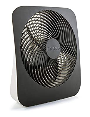 Treva 10-Inch Portable Desktop Air Circulation Battery Fan - 2 Cooling Speeds - With AC Adapter by O2COOL