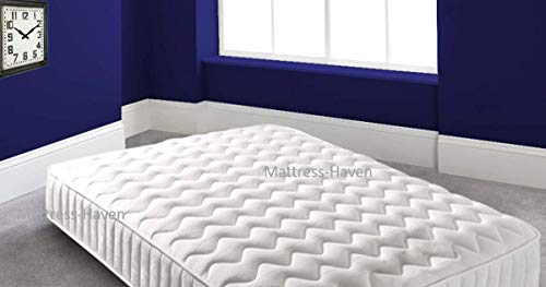 Mattress Haven Hybrid Cool Blue Memory Foam Sprung Mattress Medium Strength 6FT - Superking