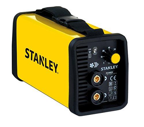 Stanley 460100 Saldatrice 230 volt con accessori e inverter, Giallo
