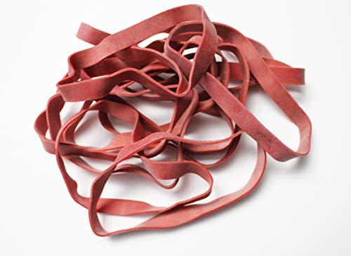 Alco-Albert 7611 - Bandas elásticas (130 x 10 mm, 1 kg), color rojo