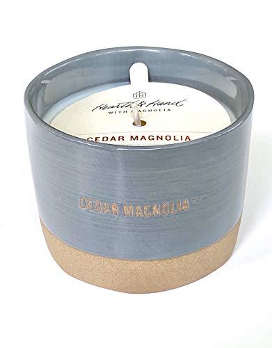 Hearth & Hand with Magnolia Cedar Magnolia Soy Candle 9 OZ