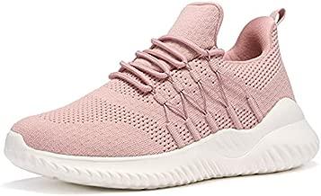 Akk Women Running Shoes Mesh Ladies Fashion Sneakers Comfort Slip On Tennis Athletic Walking Workout Indoor Gym Training Casual Cool Amazing Shoe Mauve