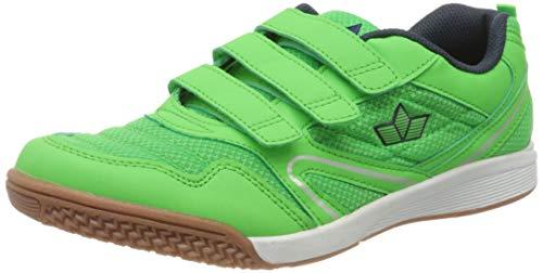 Lico BOULDER V Multisport Indoor Schuhe Unisex Kinder, Grün/ Marine, 37 EU