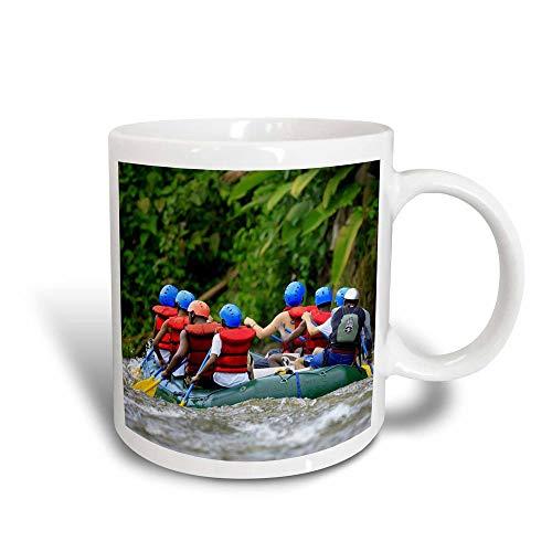 N\A Water Rafting, Sarapiqui River, Costa Rica-SA22 MPR0029-Maresa Taza transformadora mágica Pryor, Negro/Blanco