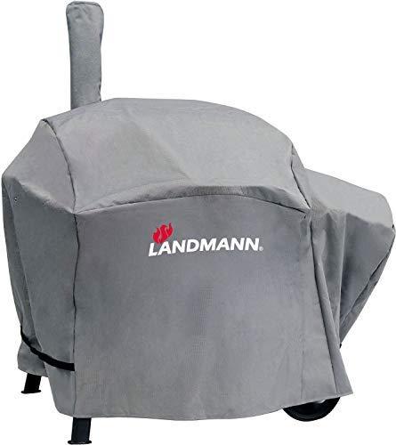 Landmann Premium Wetterschutzhaube | Aus robustem Polyestergewebe & Wasserdicht | UV-beständig, Atmungsaktiv & Kältebeständig | Geeignet für den Vinson 200 [130 x 126 x 85 cm]