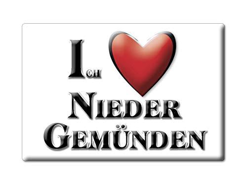 Enjoymagnets NIEDER GEMÜNDEN (HE) Souvenir Deutschland Hessen Fridge Magnet KÜHLSCHRANK Magnet ICH Liebe I Love