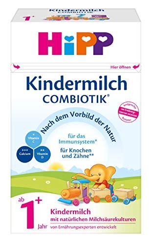 HiPP Kindermilch Combiotik, ab 1+ Jahr, 4er Pack (4 x 600 g)