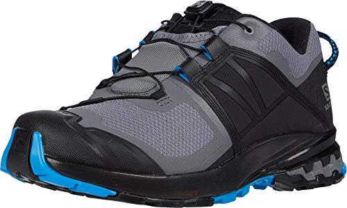 Salomon Men's XA Wild Trail Running, Quiet Shade/Black/Blue Aster, 10.5