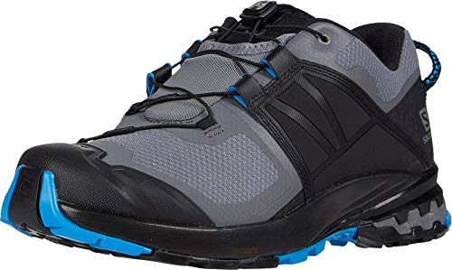 SALOMON Shoes XA Wild, Zapatillas de Running Hombre, Multicolor (Quiet Shade/Black/Blue Aster), 43 1/3 EU