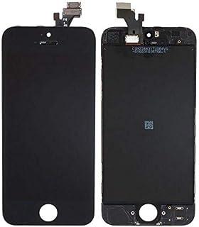 شاشة كاملة خارجية و داخلية لون اسود لاجهزة ايفون 5 ، أسود