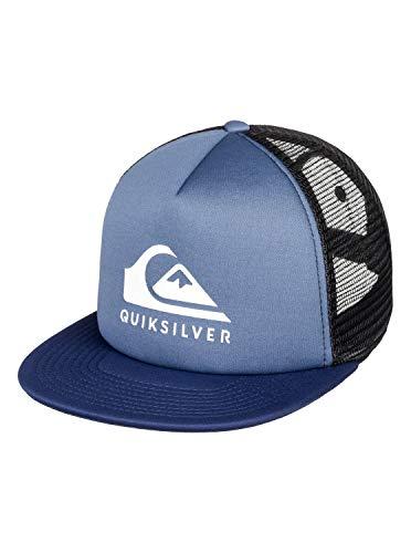 Quiksilver Foamslay - Gorra para Hombre, Bijou Blue, Talla Única