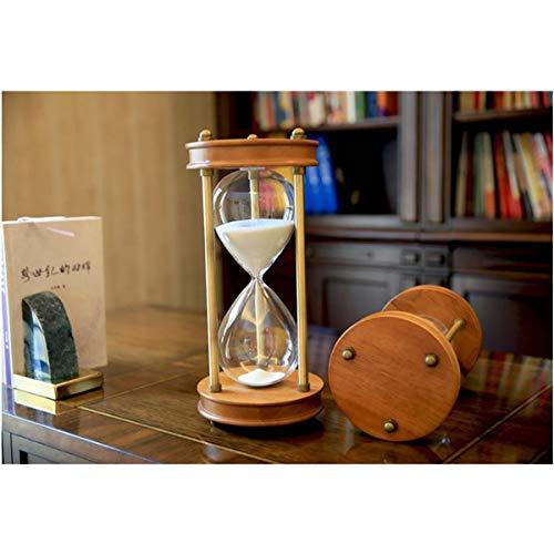 JINSUO NWXZU Eieruhr, 30/60 Minuten Hourglaßtimer, Desktop-Dekorationen, Ornamente, Geburtstagsgeschenk, schönes Geschenk (Color : A, Size : 60minutes)