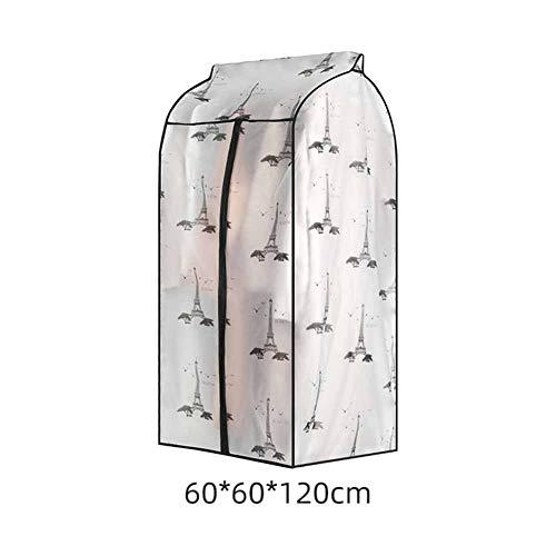 Leoie Opbergcontainer-bedrukking, verdikke, verbrede, stofdichte tas voor de huishoudorganisatie driedimensionale toren extra groot 120 cm