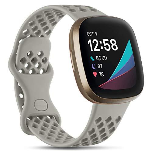 Vobafe Compatible con Fitbit Versa 3 Correa/Fitbit Sense Cor