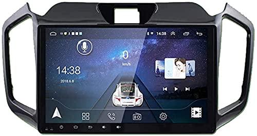 GPS Navigation Head Unit Sat Nav AUD Audio Player MP5 FM Radio Receptor Coche Estéreo 6.2 Pulgadas Pantalla Táctil Android 10.0 Compatible para Isuzu Ruimai 2017-2018,4 Core 4G+WiFi 1+16GB