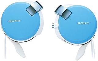 ソニー ヘッドホン MDR-Q38LW : コード巻き取り式 薄型耳かけスタイル ブルー MDR-Q38LW L