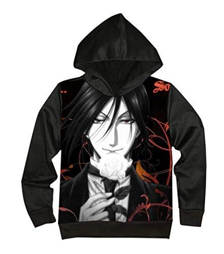 GO2COSY Anime Black Butler Kuroshitsuji Cosplay Jacket Sweatshirt Fleeces Costume Hoodie