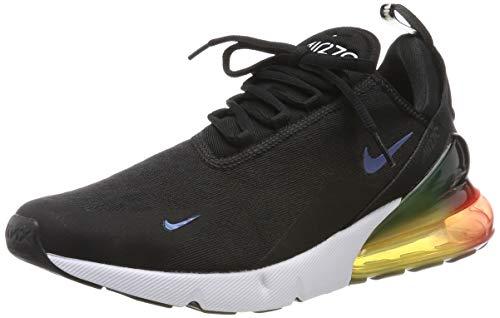 Nike Air Max 270 Se, Scarpe da Atletica Leggera Uomo, Multicolore (Black/Black/Laser Orange/Ember Glow 003), 44 EU