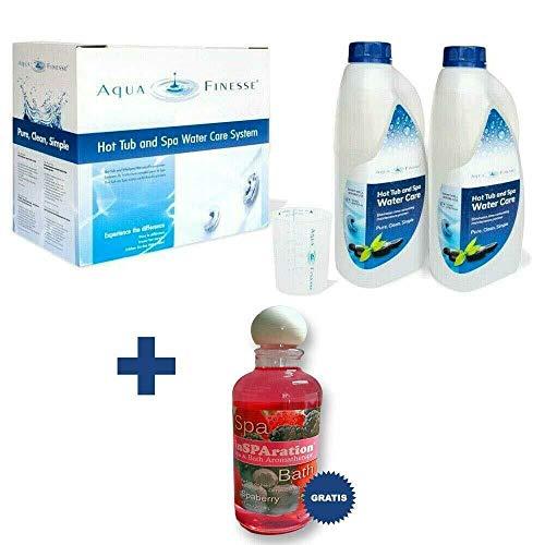 AquaFinesse mit Chlortabletten + Whirlpoolduft inSparation GRATIS Wasserpflegeset Verkaufsbox