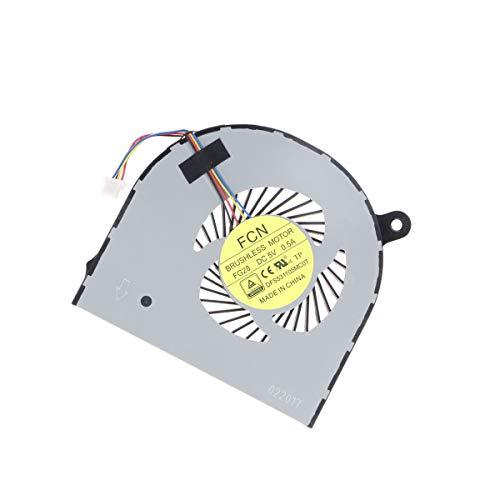 X-Comp CPU Ventilador refrigerador Fan Ventilador dfs531105mc0t de fg28Izquierda para Acer Aspire V Nitro VN7–591G R7–571G Serie