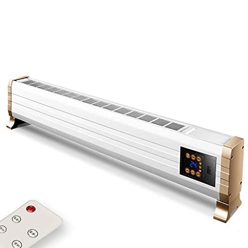 Yxx@ Calefactores Electricos Calefactor Portátil Eléctrico Termostato Regulable Silencioso Protección Sobrecalentamiento y Antivuelco para Uso en la Oficina, Casas, Dormitorio o Terraza