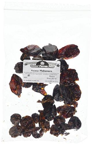 Habanero Chilli Dried Whole - 25g