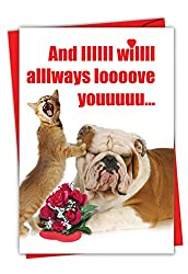 Cool Valentines Day Card No.3: And I will ALways Love You Cool Card for Vday