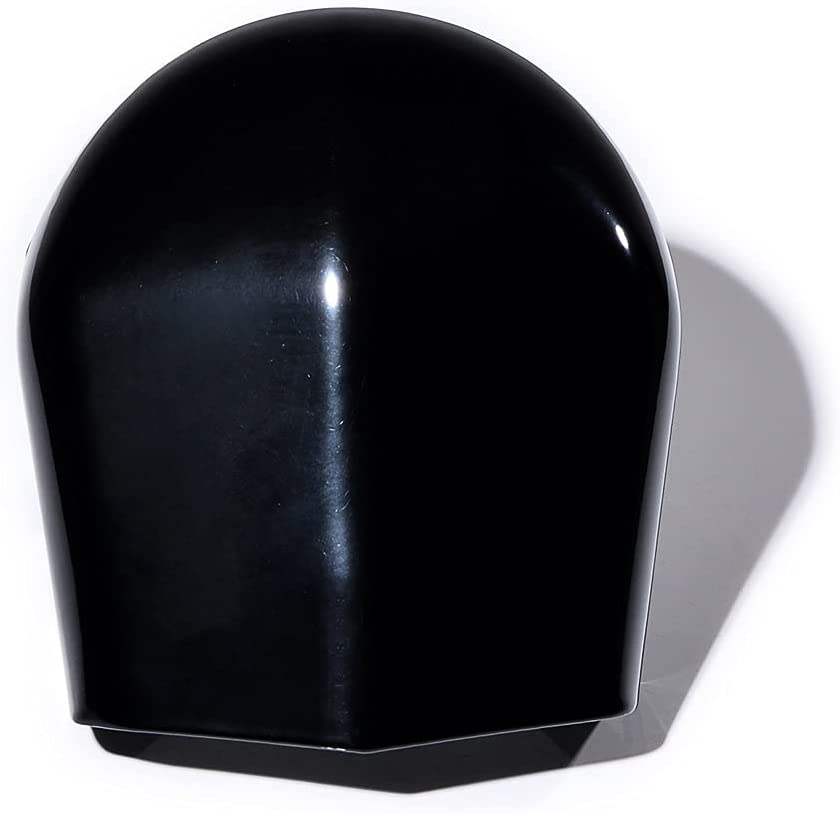 AstraDepot 1X Black Billet Many popular brands Metal Compatible Raleigh Mall Horn wit Cover Stock