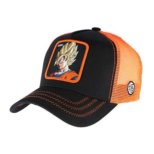 Collabs Gorra Dragon Ball Z Goku Trucker Negro (Talla única para Todos sexos) …