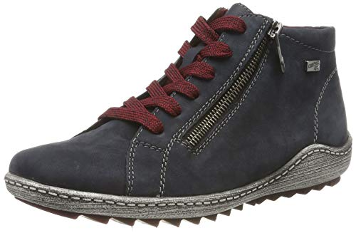 Remonte Remonte Damen R1470 Hohe Sneaker, Blau (Pazifik/Pazifik 15), 36 EU