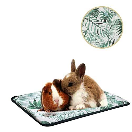 Oncpcare Haustierbett, für Kleintiere, selbstkühlend, für kleine Tiere, Liegeunterlage, gemütliches Meerschweinchen, Spielmatte für Welpen, Frettchen, Eichhörnchen, Kaninchen, Chinchilla