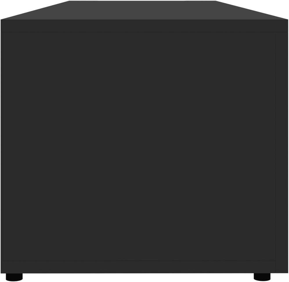 vidaXL TV Schrank mit 3 Schubladen Lowboard TV M/öbel Sideboard Fernsehtisch Fernsehschrank HiFi-Schrank Grau 120x34x30cm Spanplatte
