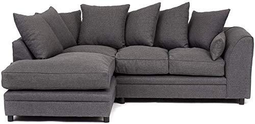 Muebles de sala, un sofá, un sillón, en la esquina, la cabeza de la silla,Corner Left