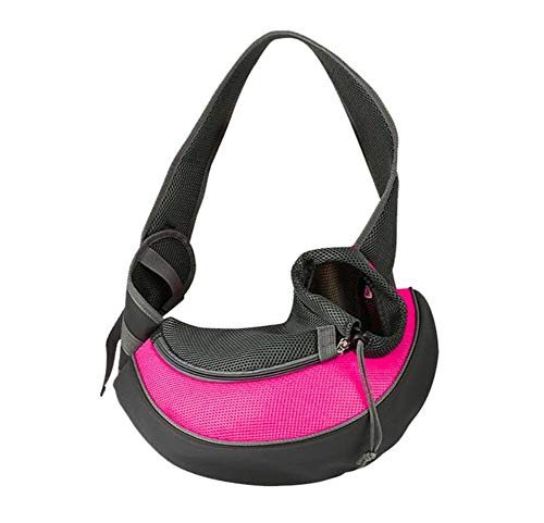 Pet Puppy Strap S/M Outdoor Reis van de Hond schoudertas Mesh Oxford Doek Single Comfortabele Strap Handbag Tote (Color : E, Size : S)