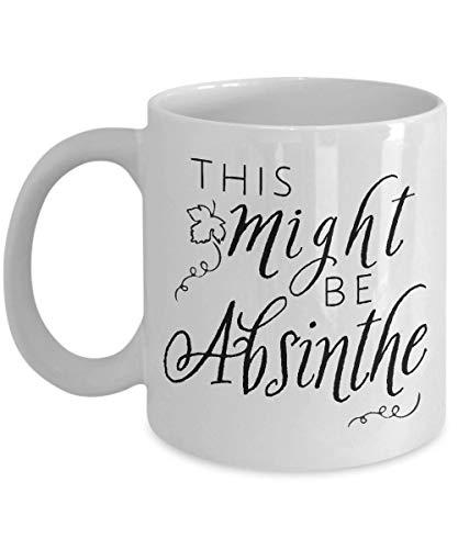 Sp567encer Dit kan Absinth Wmoed mok struik mok mok Anijs cadeau cadeau voor liefhebbers alcohol aanwezig Tequila gift idee Rum koffiehaver