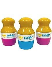 Vervanging hoofden voor Solar Buddies Kindvriendelijke Hervulbare Zonnebrandcrème Applicator met spons roll op voor kinderen zonnebrandcrème en lotion