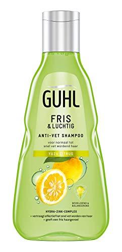 Guhl Fris & Luchtig Shampoo - met Yuzu Citrus -  voor normaal tot vet haar - 250 ml